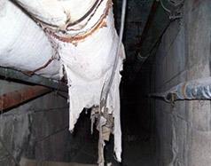 Contaminated Pipe Tunnel/Crawlspace